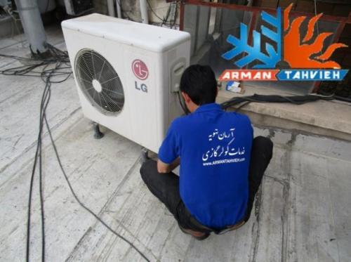 سرویس و تعمیر کولر گازی