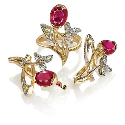 کلاس آموزش طراحی جواهرات
