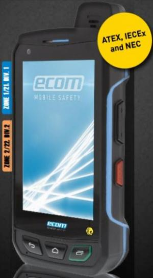 گوشی موبایل ضدانفجار ecom آلمان - Smart phone - دیتالاگر