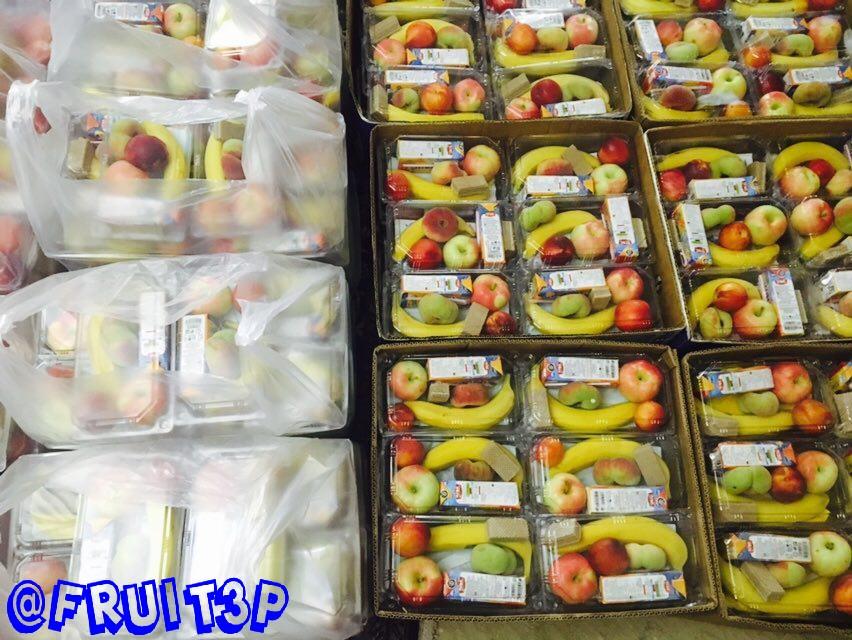 بسته های میوه تکنفره مراسم  (پوپک)