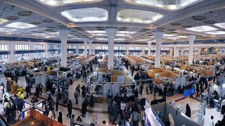 سی و یکمین نمایشگاه بین المللی کتاب تهران از 12 تا 22 ادریبهشت در مصلای امام خمینی برگزار می شود.