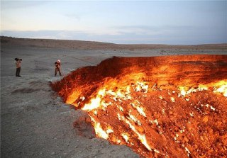 دروازه جهنم یکی از مکانهای عجیب در ترکمنستان است