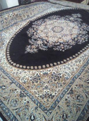فرش ۹متری سرمه ای رنگ